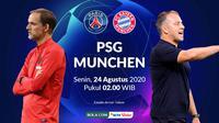 Final Liga Champions: Thomas Tuchel vs Hans-Dieter Flick. (Bola.com/Dody Iryawan)
