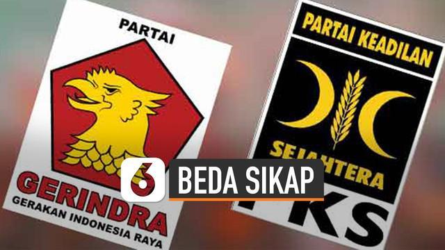 PKS dan Gerindra buka suara terkait wacana Perppu KPK.