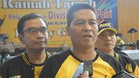 Karo Penmas Divisi Humas Polri Brigjen Raden Prabowo Argo Yuwono, di Puncak, Bogor, Sabtu (14/12/2019). (LIputan6.com/ Achmad Sudarno)