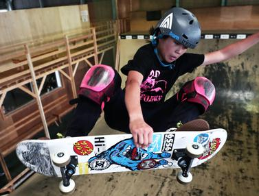 Misugu Okamoto, Skateboarder Remaja Andalan Jepang di Olimpiade