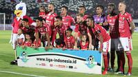 Bali United di Liga 1 2018. (Bola.com/Aditya Wany)