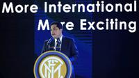 Presiden Inter Milan Erick Thohir dalam sebuah acara di Nanjing, 6 Juni 2016. (AFP/STR)