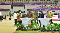 Presiden Joko Widodo (Jokowi) meresmikan 7 arena olahraga atau venue yang digunakan untuk PON XX Papua (dok: PUPR)