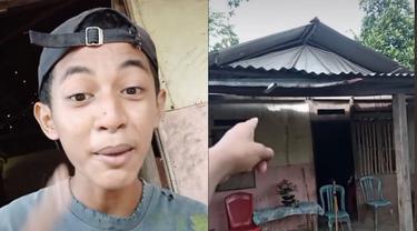 Diejek karena Tinggal di Rumah Kayu, Pria Ini Tetap Bangga Beri Home Tour
