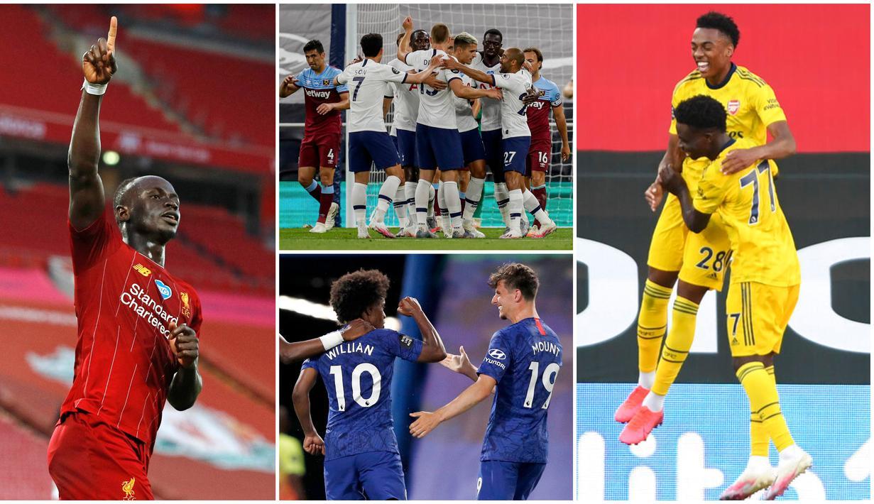 Berikut ini ragam selebrasi gol yang menghiasi Premier League Pekan ke-31. Mulai dari Selebrasi Sadio Mane hingga Antony Martial.