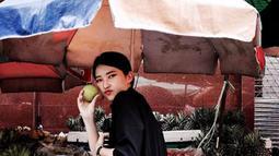 Tidak dapat dipungkiri bahwa wajah cantik Thefani Cindy memang terlihat seperti Bae Suzy. (Liputan6.com/IG/cindythefannie)