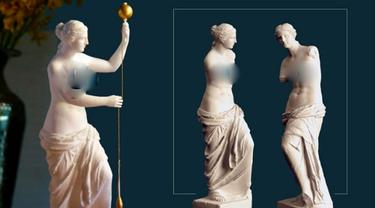 Patung Venus de Milo yang menyimpan misteri