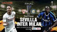 Final Liga Europa Sevilla vs Inter Milan. (Liputan6.com/Abdillah)