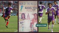 Pada 2005, Wawan Widiantoro pernah membikin heboh jagat sepakbola Indonesia. (Bola.com/Gatot Susetyo)