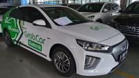 Hyundai Ioniq untuk armada taksi online Grab (Merdeka.com)