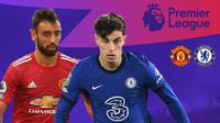 Liga Inggris: Manchester United Vs Chelsea. (Bola.com/Dody Iryawan)