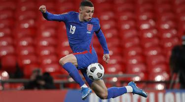 Seperti pada edisi-edisi sebelumnya, ajang ini akan menjadi pembuktian bagi talenta-talenta muda potensial. Penampilannya akan menjadi jejak karir mereka. Berikut 5 pemain muda potensial yang akan unjuk gigi di perhelatan Euro 2020 (Euro 2021). (Foto: AFP/Pool/Adrian Dennis)