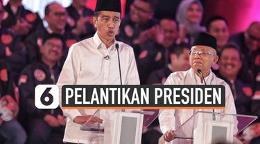 Pimpinan MPR akhirnya menyepakati waktu pelantikan Presiden dan Wakil Presiden periode 2019-2024 pada Minggu 20 Oktober 2019 pukul 14:30 WIB.