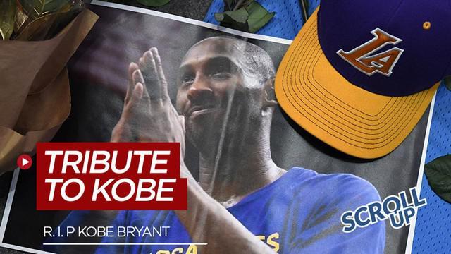 Berita video Scroll Up membahas penghormatan terakhir kepada legenda NBA, Kobe Bryant, yang meninggal dunia dalam kecelakaan helikopter.