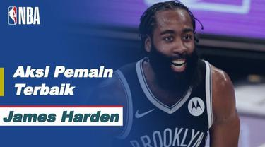 Berita Video Aksi-Aksi dari James Harden Saat Brooklyn Nets Kalahkan Detroit Pistons di NBA Hari Ini