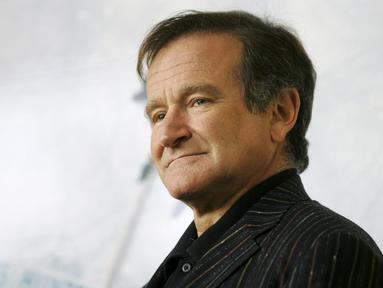 Senin (11/8/14), aktor dan komedian, Robin Williams, ditemukan meninggal dunia di rumahnya, California. (REUTERS/Alessia Pierdomenico/Files)