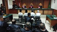 Pengadilan Negeri Jakarta Barat mengelar sidang perdana atas kasus kerusuhan 22 Mei 2019. (Liputan6/Ady Anugrahadi)