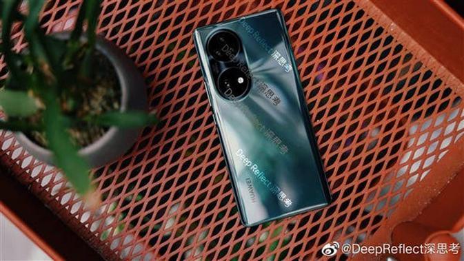 Penampakan Huawei P50. (Doc: Weibo/ @DeepReflect)