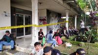 Kantor PAC PDIP Megamendung Bogor Dilempari Molotov (Achmad Sudarno/