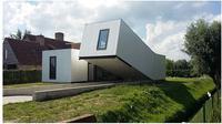 Desain rumah unik (Sumber: Instagram/uglybelgianhouses)