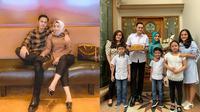 Potret Muzdalifah dan Fadel Islami Setelah Setahun Menikah. (Sumber: Instagram.com/fadelislami_ dan Instagram.com/muzdalifah999)