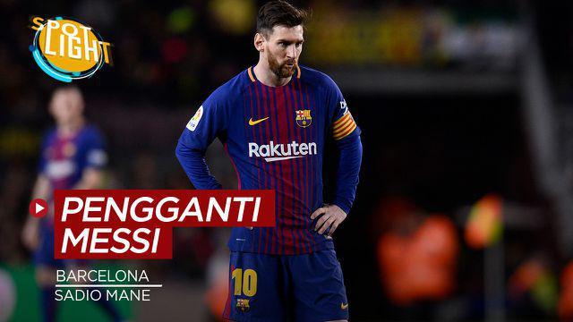 Berita video spotlight kali ini membahas tentang empat pemain yang layak untuk menggantikan posisi Lionel Messi di Barcelona.
