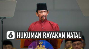 Brunei Darussalam melarang perayaan Natal digelar secara terbuka. Bagi warga Non-Muslim diperbolehkan merayakan Natal secara tertutup.