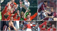 Final Liga Champions antara Manchester United kontra Bayern Munchen pada Mei 1999 menjadi salah satu final paling dramatis dan dikenang. MU mampu membalikkan keadaan usai mencetak 2 gol di masa injury time yang membuat Setan Merah akhirnya menang 2-1.