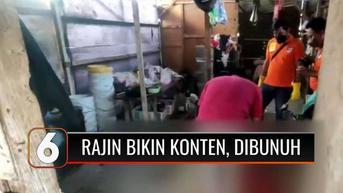 VIDEO: Istri Rajin Bikin Konten di Medsos Dibunuh Suaminya yang Cemburuan