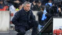 Manajer Manchester United asal Portugal, Jose Mourinho. (AFP/Lindsey Parnaby)
