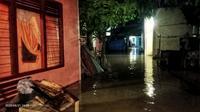 Penampakan banjir luapan di Aceh Selatan (Ist)