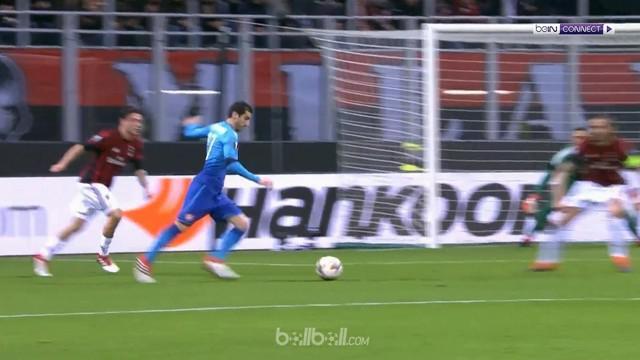 Arsenal menundukkan AC Milan dengan skor 2-0 dalam laga 16 besar leg pertama Liga Europa di San Siro, Jumat (9/3) dinihari WIB. Ta...