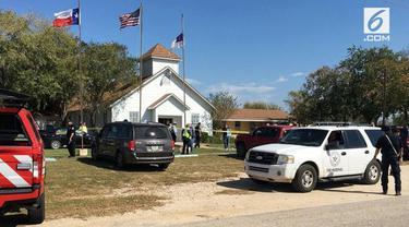 Sebuah Gereja menjadi lokasi penembakan massal di Texas. Hingga kini, 27 orang dilaporkan meninggal.
