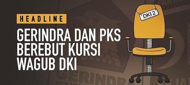 Teka-teki nama calon wagub DKI Jakarta masih diperdebatkan. PKS dan Gerindra disebut sudah mengusung tokoh untuk dijadikan kursi wakil Anies Basweda tersebut.