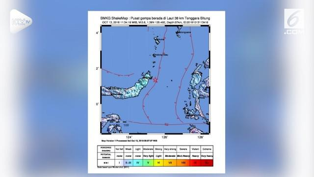 Gempa berkekuatan magnitudo 5,6 mengguncang Manado, Sulawesi Utara. Selain Manado, getaran gempa juga dirasakan di beberapa kabupaten dan kota di Sulawesi Utara. Seperti Minahasa Utara, Bitung, Minahasa Tenggara, Minahasa Selatan,Sangihe, Sitaro, dan...