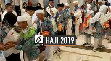 500 Jemaah haji embarkasi Balikpapan menjadi jemaah haji terakhir yang meninggalkan Kota Makkah. Mereka selanjutnya diarahkan melaksanakan ibadah arbain di Madinah. Total sudah 529 klotter jemaah haji yang datang dan meninggalkan Kota Makkah.