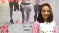 Chelsea Islan akan mengikuti fun walk atau pink run 5k pada Indonesia Goes Pink 2017.