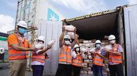 Sebanyak 420 ton daging sapi beku boneless asal Brasil didatangkan secara bertahap. Dok instagram @rniholding