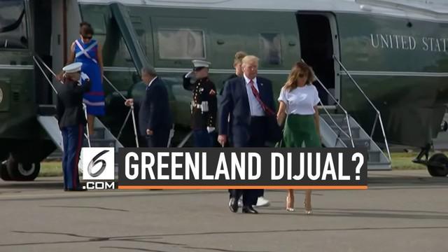Presiden Donald Trump kesal karena keinginannya untuk membeli Greendland ditolak PM Denmark. Trump pun sebut PM Denmark menjijikan.