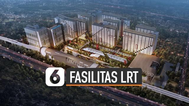Selain infrastruktur utama LRT, pemerintah juga membangun fasilitas lain. Fasilitas tersebut merupakan bentuk bisnis property berkonsep dekat dengan LRT.