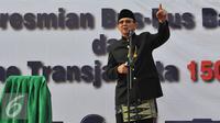 Gubernur DKI Jakarta, Basuki Tjahaja Purnama. (Liputan6.com/Herman Zakharia)