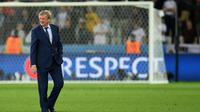 Pelatih kepala timnas Inggris, Roy Hodgson. (PAUL ELLIS / AFP)