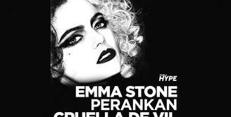 Bagaimana penampilan perdana Emma Stone sebagai Cruella? Yuk, kita cek video di atas!