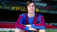 Johan Cruyff saat masih bermain untuk Barcelona. (dok. ad.nl)