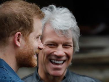 Jon Bon Jovi dan Pangeran Harry