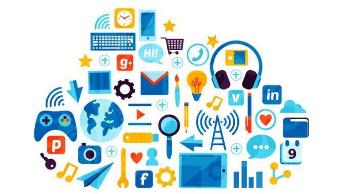 Ilustrasi Startup, Perusahaan Teknologi, Cloud, Komputasi Awan. Kredit: Freepik