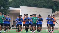 Pelatih Timnas Indonesia, Shin Tae-yong, memastikan pemusatan latihan Timnas Indonesia kali ini tak akan digelar dengan intensitas tinggi. (dok. PSSI)
