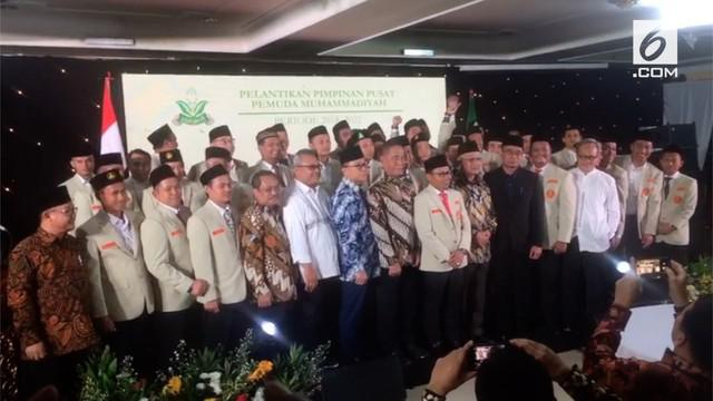 Pimpinan Pusat Pemuda Muhammadiyah (PMBAG) melantik kepengurusan baru. Di forum ini, PMBAG juga menegaskan sikap politik di Pemilu 2019.