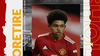 Pemain Manchester United: Shola Shoretire. (Bola.com/Dody Iryawan)