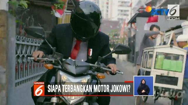 Anda terpukau dengan aksi Jokowi mengendarai motor paspamres pada pembukaan Asian Games semalam? Sebenarnya, siapa ya orang di balik helm itu sebenarnya?